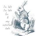 Alice in wonderland Pint Glasses