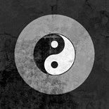 Distressed Yin Yang