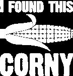 I found this corny blwh