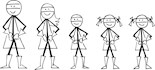 Stick Figure Drawings