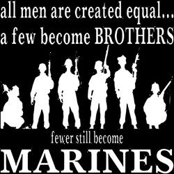 Few Become Marines T-Shirt