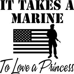 It Takes A Marine
