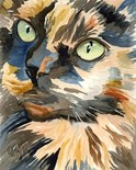 Bright Cat Painting