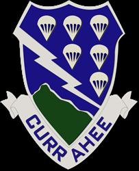 DUI - 4th Brigade Combat Team - Currahee Decal