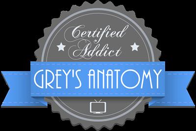 Certified Addict: Grey's Anatomy