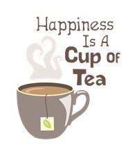 Happiness Is A Cup Of Tea