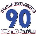 90 Birthday Gear