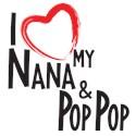 Nana and pop pop Toddler T-Shirt