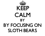 Images Sloth Bears