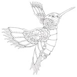 Hummingbird Art