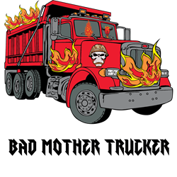 BAD MOTHER TRUCKER!!! Decal Gifts
