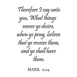Whatsoever Ye Shall Ask Prayer