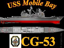USS Mobile Bay CG-53 Shirt Gifts
