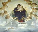 Virgin Child Saint Angel