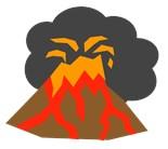 Erupting