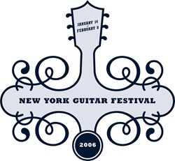 New York Guitar Festival Ash Grey T-Shirt