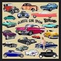 Classic car Queen Duvet Covers
