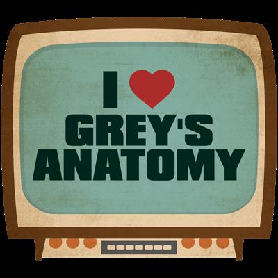 Retro I Heart Grey's Anatomy