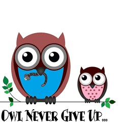 Owl Never Give Up (Dysautonomia)   Gifts