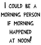 Getting Awake