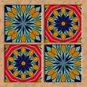 Mexican tiles Framed Tiles