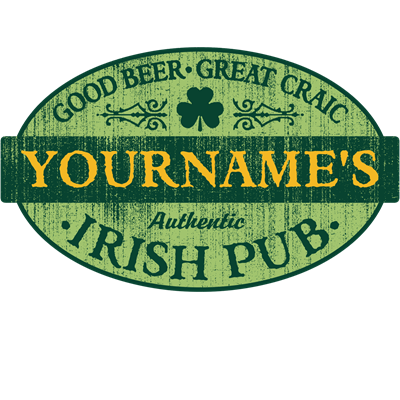 Custom Irish Pub Vintage