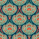 Ornate paisley pattern Laptop Skins