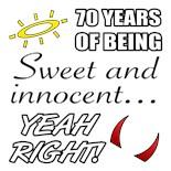 Cute 70Th Birthday