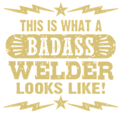 Badass Welder Hoodie