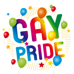 Gay Pride Celebration Ornament (Round)