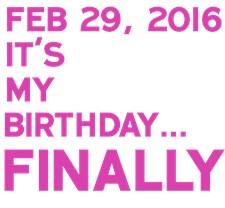 Feb 29, 2016 FINALLY