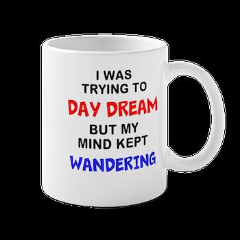 wandering mind II Mug