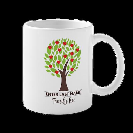 Personalisable Family Tree Mug