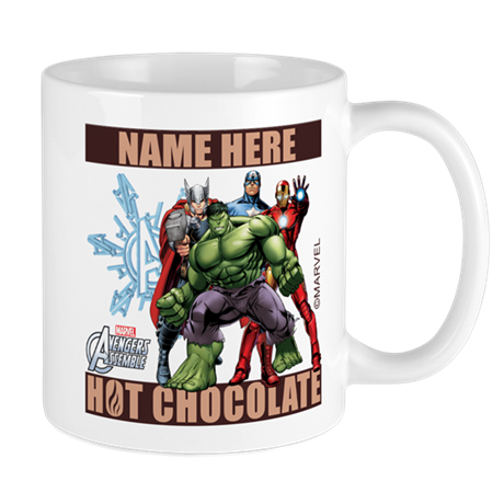 Personalized holiday avengers mugs by theavengers for Unique christmas mugs