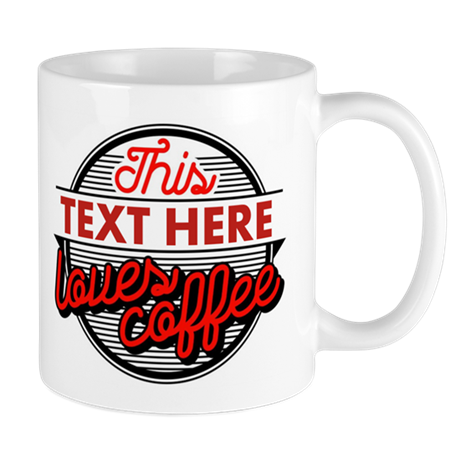 Personalized Coffee Lovers Mug