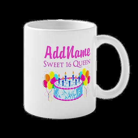 SWEET 16 QUEEN Mug