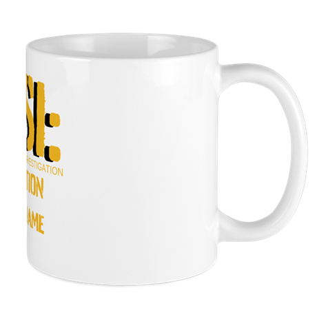 Customizable CSI Mug