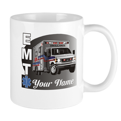 Custom Personalized EMT Mug