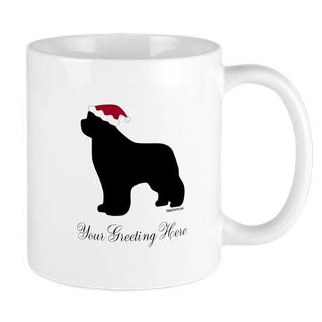 Newf Santa - Your Text Mug