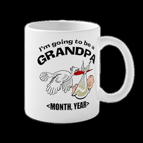 Funny Grandpa To Be Personalized Mug