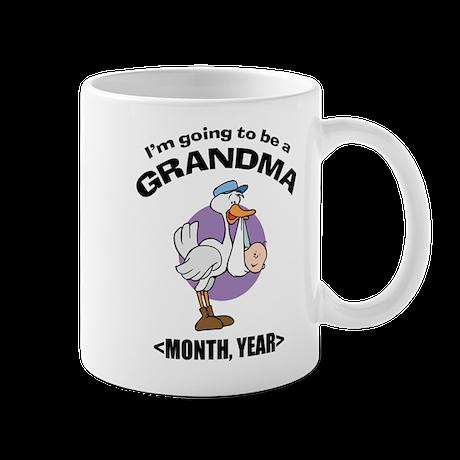 Grandma To Be Personalized Mug