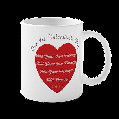 Our 1st Valentine's Day Mug