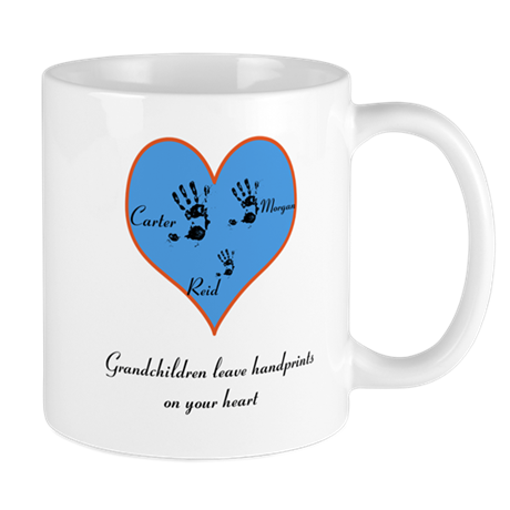 Personalized handprints Mug