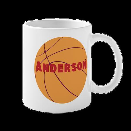 Personalized Basketball. Mug