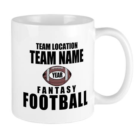 Your Team Personalized Fantasy Football Mug