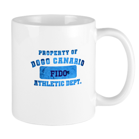 Personalized Property of Dogo Canario Mug