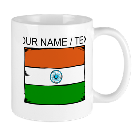 Custom India Flag Mug
