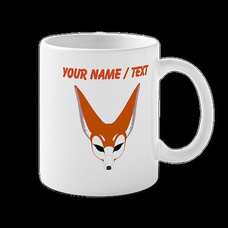 Custom Red Fox Mugs