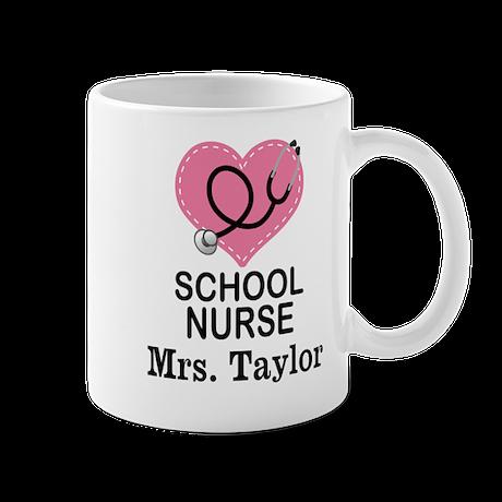 Personalized School Nurse Mugs