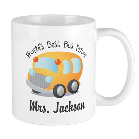 Personalized Bus Driver Mugs